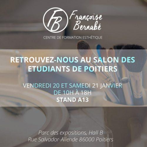 FB formation esthétique - salon des étudiants Poitiers